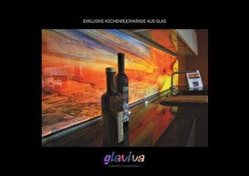 GLAVIVA ® • Edles Glasdesign - Digital bedruckte Küchenrückwände aus Glas