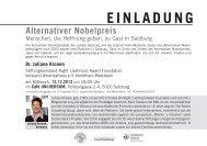 Einladung und Programm als PDF ansehen - Leopold Kohr Akademie