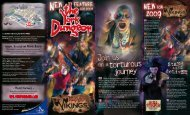 The York Dungeon - Days Out Leaflets