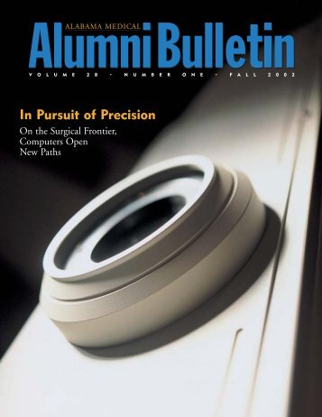 In Pursuit of Precision - University of Alabama at Birmingham
