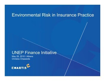 Environmental Risk in Insurance Practice