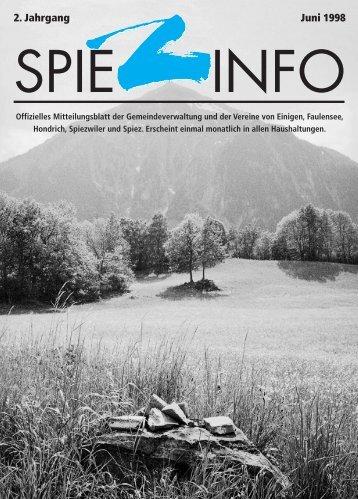 06juni spiezinfo98 - in Spiez