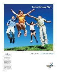 Dramatic Leap Plan - Eisai Inc.