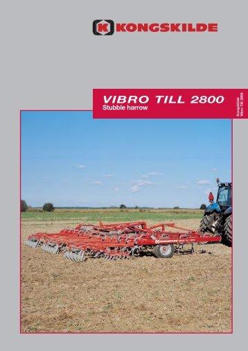 VIBRO TILL 2800 Stubble harrow - Agriquip