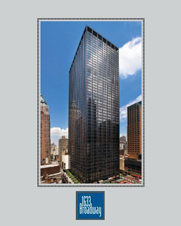 1540 Broadway 2 sided card - Paramount Group, Inc.