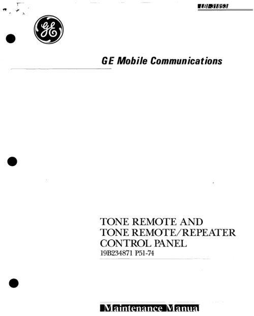 GE Mastr II Radio Repeater Voter Receiver Modue Line Level Compensation Board 28