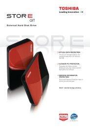 External Hard Disk Drive - Toshiba
