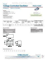 UMTS (WCDMA) PerforMAnCe vS  oUTPUT PoWer     - Mini-Circuits