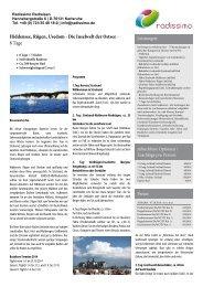MS Mecklenburg - Brandenburg mit Rad und Schiff - Spreewald
