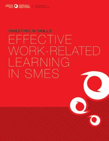 Effective Work-related Learning in SMEs - ABC Life Literacy Canada
