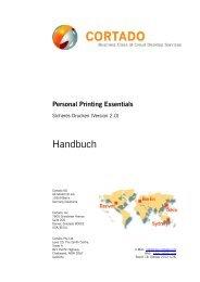 Personal Printing Essentials (German) - Cortado