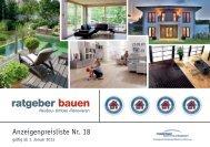 Mediadaten 2013 - Ratgeber Bauen 24