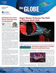 Roger Waters Performs The Wall at Citizens Bank ... - Global Spectrum