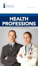 HEALTH PROFESSIONS - Jones & Bartlett Learning