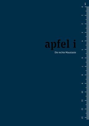 apfel i – Die rechte Maustaste - Fontblog