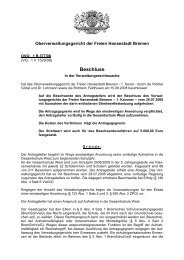 OVG 1 B 377/08 (pdf, 65.3 KB) - Oberverwaltungsgericht Bremen