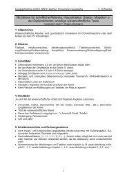 Richtlinien für die formale Gestaltung von Hausarbeit, Thesenpapier ...