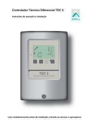Controlador Térmico Diferencial TDC 2 - Sorel