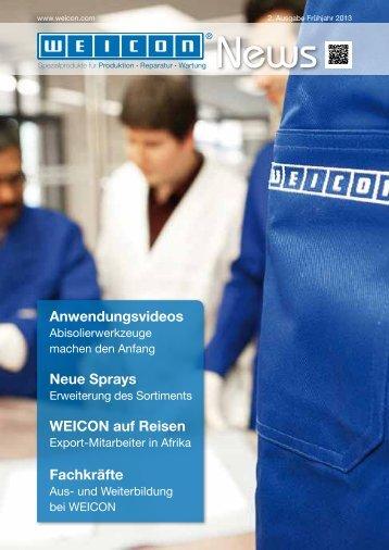 WEICON News 2013 PDF Dokument - Weicon.com