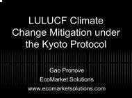 Economics of Terrestrial Carbon Sequestration