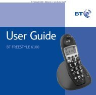 BT Freestyle 6100 User Guide - UkCordless