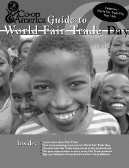 Download our free Guide to World Fair Trade Day - Green America