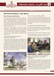 News Letter.indd - Ramallah Friends Schools