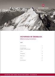 VICTORINOX IM ÜBERBLICK Mediendokumentation - TRG Group