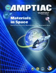 AMPTIAC is a DOD Information Analysis Center Administered