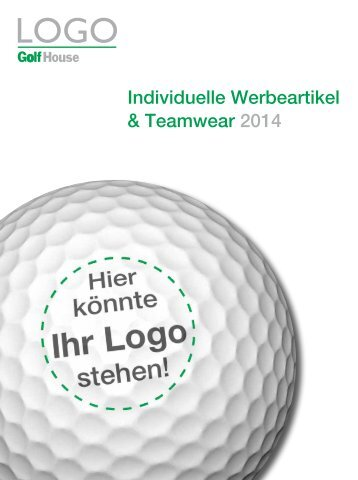 Golf House - Logoartikel