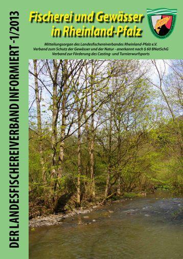 Heft 1 / 2013 - Landesfischereiverband Rheinland-Pfalz e.V.