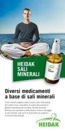 HEIDAK SALI MINERALI - Heidak AG