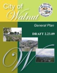 DRAFT 2.23.09 - City of Walnut