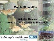 Mobile Simulation - Human Patient Simulation Network