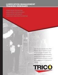 lubrication management training seminars - Jero Industrial Corp.