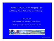 Presentation - Dynamic Positioning Committee of the MTS