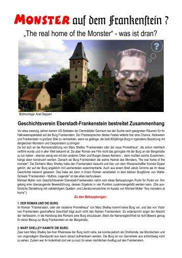 Monster auf dem Franken#ein ? - Geschichtsverein Eberstadt ...