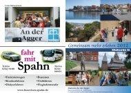 Gemeinsam mehr erleben 2012 - Ev. Kirchenkreis an der Agger