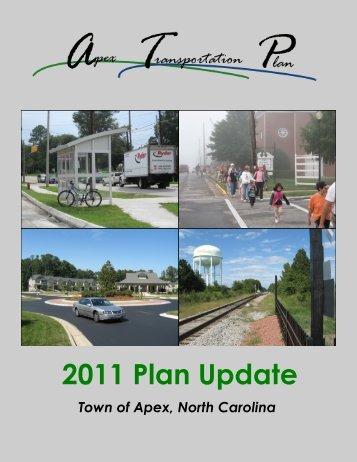 Transportation Plan - Town of Apex