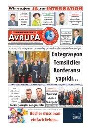 EUROPA JOURNAL - HABER AVRUPA  APRIL 2014