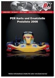 PCR Kart 2008 - Beule Kart