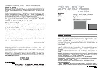 4963 4964 4966 4967 a4/a5/bn carte de gris neutre - FOTOWAND ...