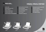 WB606,WB656,WB706E