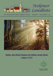 Stolpner Landbote - Kirchgemeinde Stolpener Land