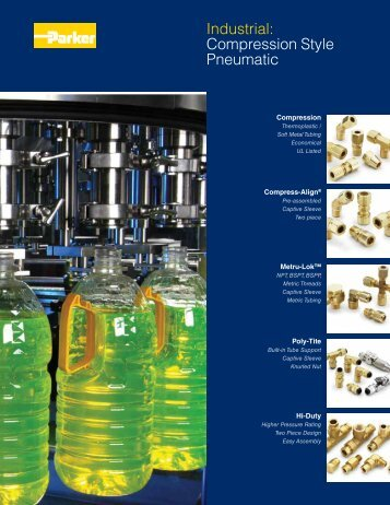 Industrial: Compression Style Pneumatic - Parker