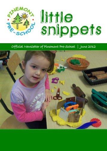 June 2012 - Pinemont PreSchool