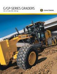 G/GP-SERIES GRADERS - John Deere