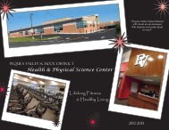 Health & Physical Science Center - Pequea Valley School District