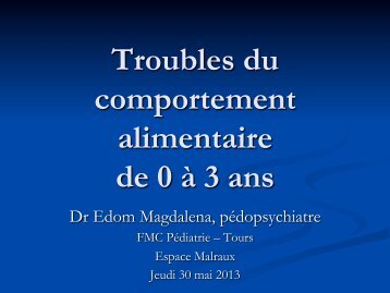 Trouble Comportement Alimentaire