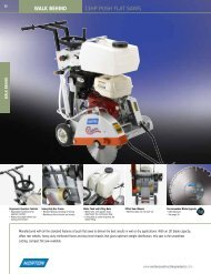 Specs - Heavy Equipment Rental